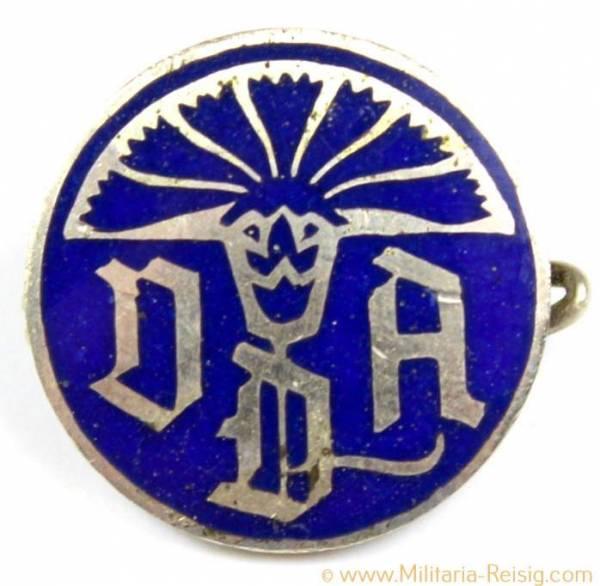 Mitgliedsabzeichen, DDA Abzeichen, Herst. F. Hoffstätter, Bonn, 15mm