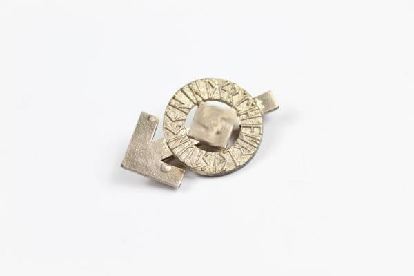 Hitlerjugend (HJ), Leistungsabzeichen in Silber, Herst. Karl Wurster, Markneukirchen