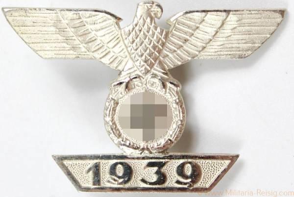 Wiederholungsspange 1939 zum Eisernen Kreuz 1. Klasse 1914, Herst. L/11