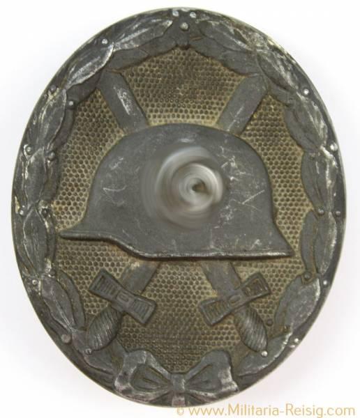 Verwundetenabzeichen 1939 Silber (2.Form), Herst. L 24 (Fritz Zimmermann Stuttgart)